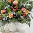 Bouquet Francés Naranja Cherry