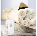 Ecobox Rosas al Natural Blancas