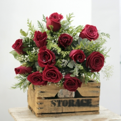 Mini Bouquet Only in Red