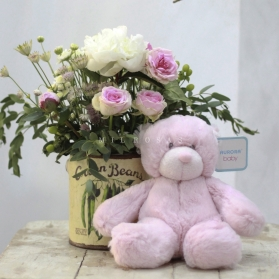 Osito Bebé Rosa