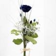 Rosa Individual Azul Intenso XXL