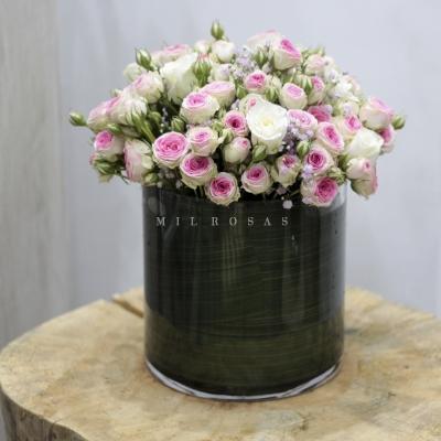 Vintage Spray Roses