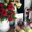Sombrerera Rosas Rojas