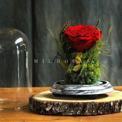 Joya Totem Rosa Roja